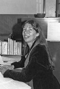 Photo of author Ginnah Howard in 1982.